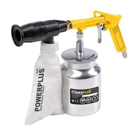 Druckluft Sandstrahlpistole incl, inklusive 2kg von Sand, Gerät mit aufschwung -
