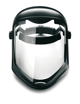 Honeywell 1011623 Bionic Face Shield with Uncoated Polycarbonate Screen Clear Lens -